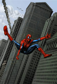 The Amazing Spider-man Pin-Up