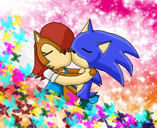 Kiss-------- by maithehedehog