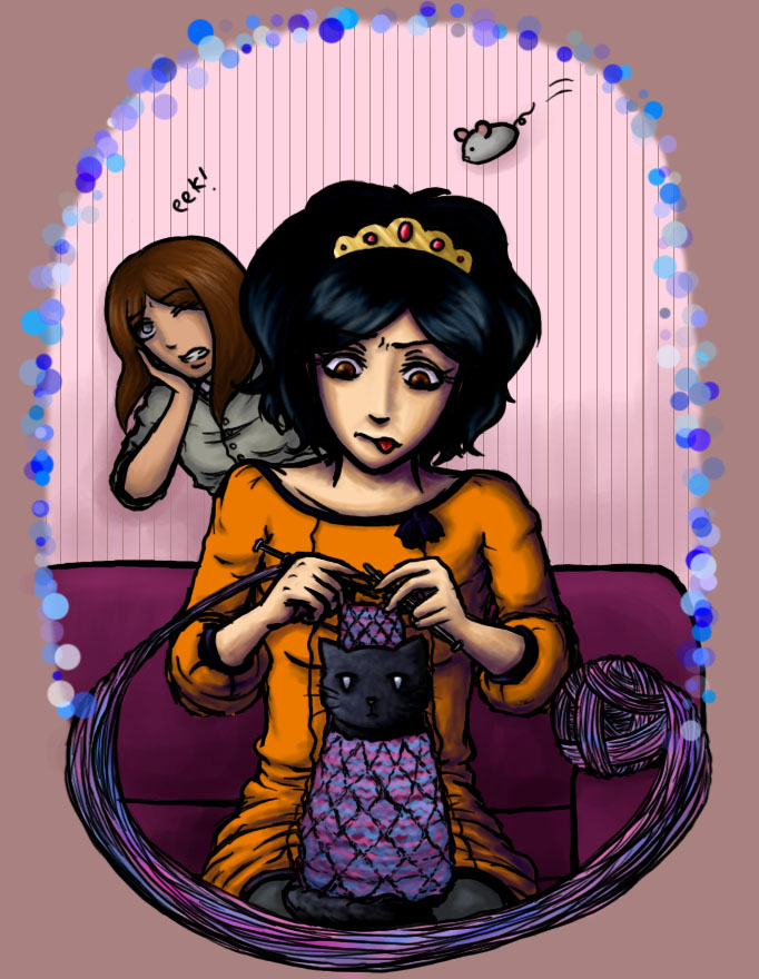 Knit Princess Contest Entry by RunawayKid