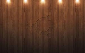 Macish Ubuntu Hardwood lights by michaelgoldthriteart