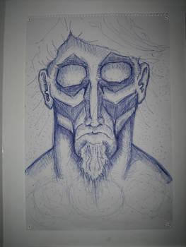Self Portrait as god