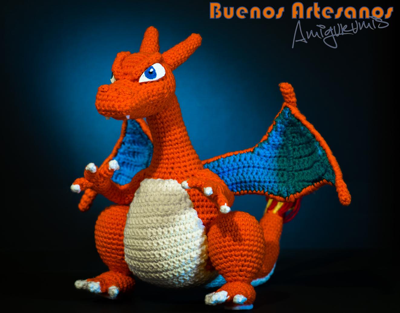 Amigurumi Pokemon Mercadolibre : Amigurumi Pokemon Charizard by BuenosArtesanos on DeviantArt