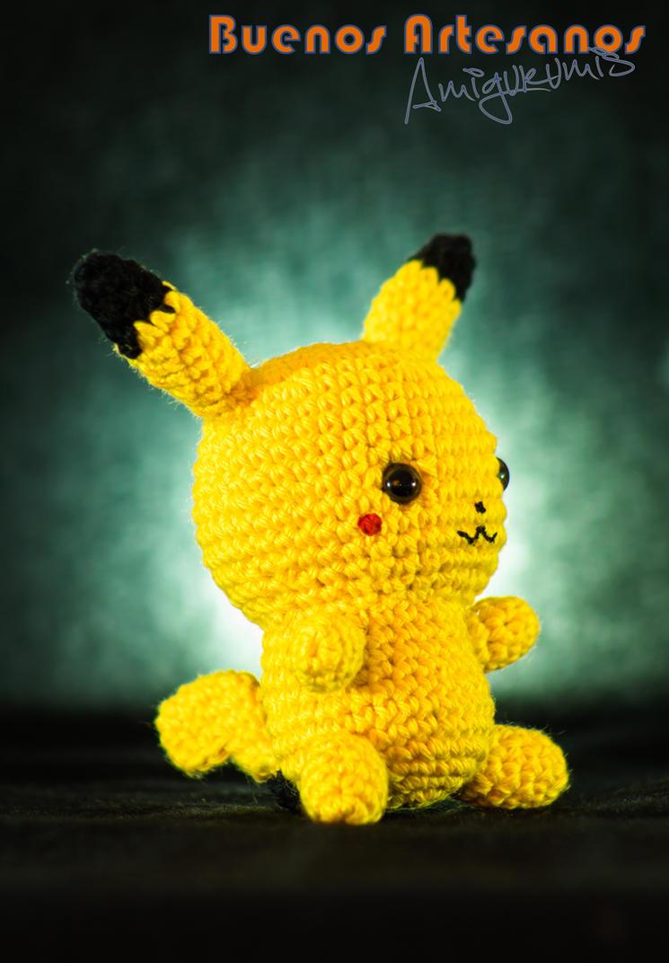Pikachu En Amigurumi : Amigurumi Pokemon Pikachu by BuenosArtesanos on DeviantArt