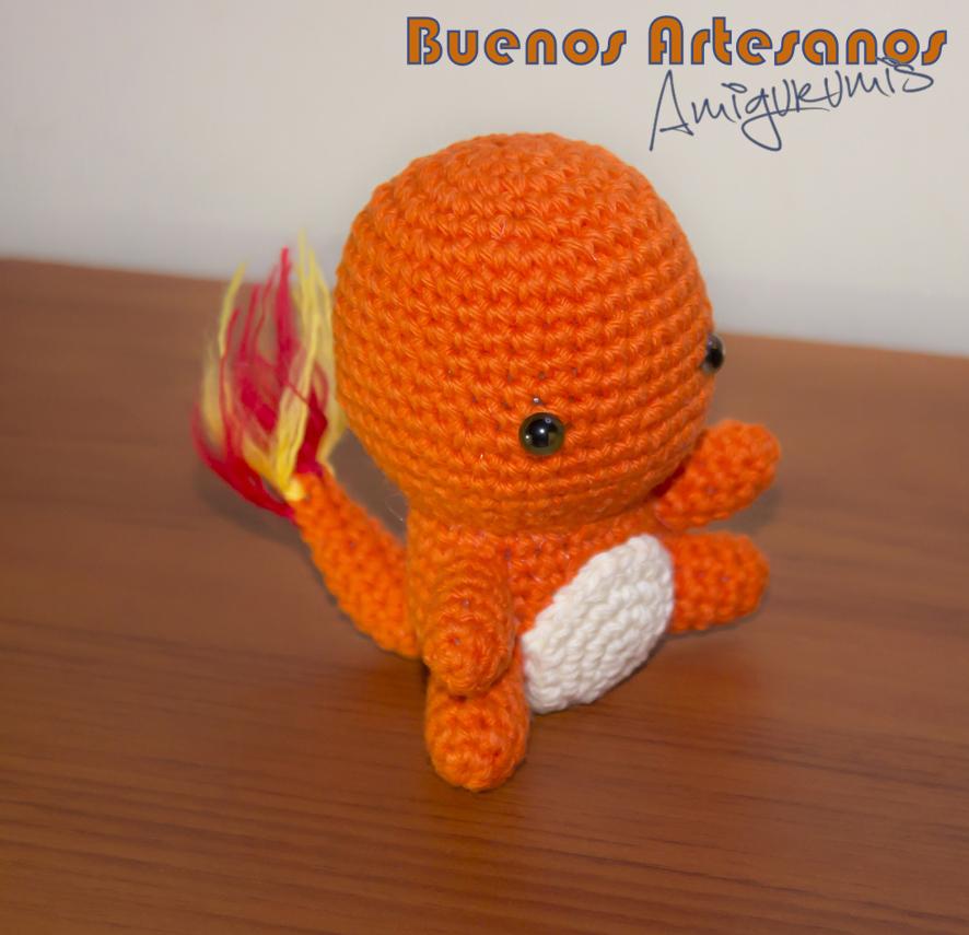 Amigurumi Pokemon Charmander by BuenosArtesanos on DeviantArt