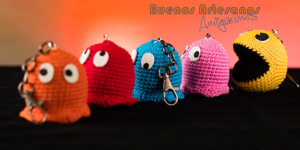 Amigurumi Mane : Amigurumi Pac-Man by BuenosArtesanos on DeviantArt