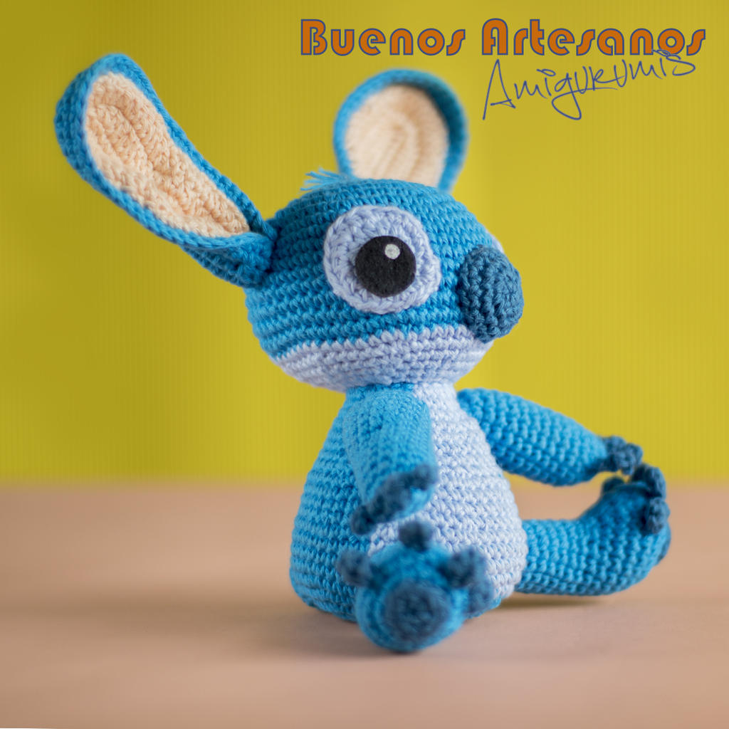 Amigurumi Stitch by BuenosArtesanos on DeviantArt