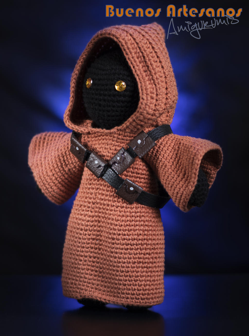 Free Amigurumi Snowman Crochet Patterns : Amigurumi Jawa (star Wars) by BuenosArtesanos on DeviantArt