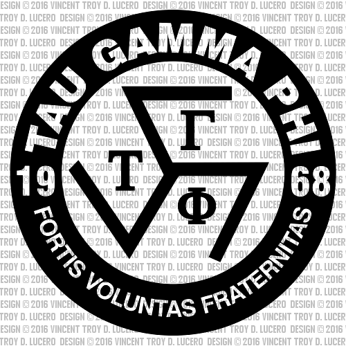 Tau Gamma Phi Logo By Vincent Troy D. Lucero By