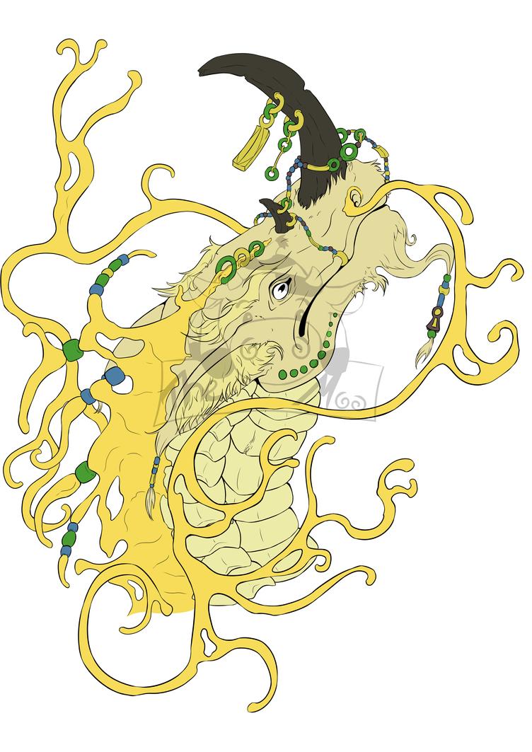 Asian Dragon (WIP) by Haruki-chan2