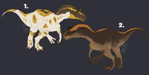 Adopts - Allosaurus 2 1/2 OPEN by JackyTheMoo