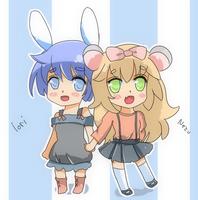 Nezu and Iori by Rinnri