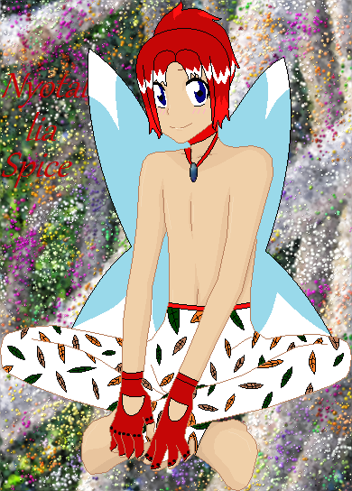 Nyotalia Fairy-Spice The Fairy by WhiteMageHealer