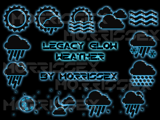 Legacy Glow Weather - Beautiful Widgets