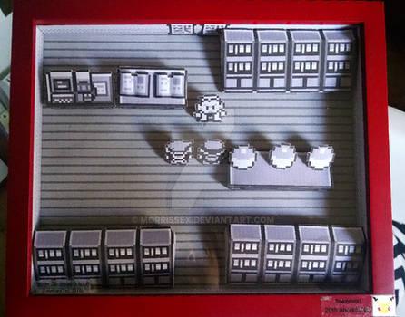 Pokemon Red, 20th Anniversary Diorama