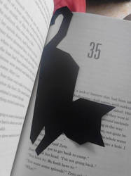 Cat Bookmark by Meowkel