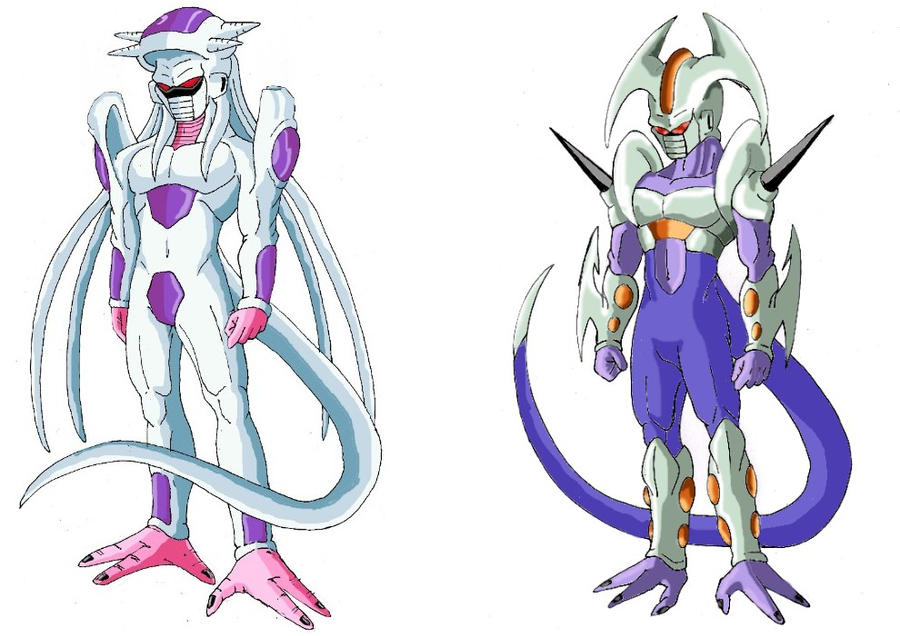 Dragon Ball New Race De Freezer By Justice-71 On DeviantArt