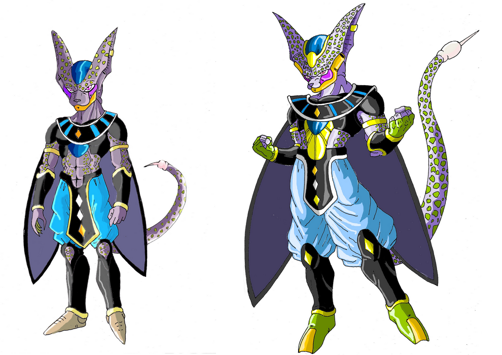 Dragon ball fusion by justice 71 on deviantart - Dragon ball z baby cell ...