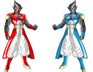 dragon ball super heroes online xenoverse GT by justice-71