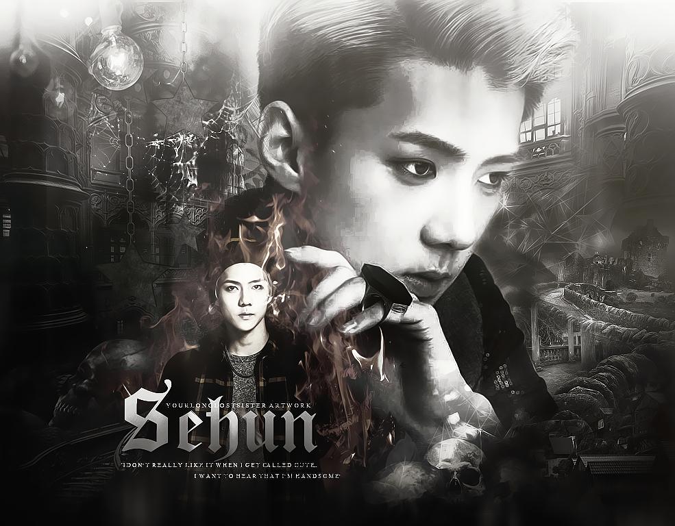 Sehun EXO Wallpaper by Yourlonglostsister on DeviantArt  Sehun EXO Wallp...