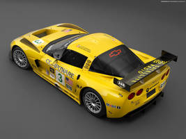 Chevrolet Corvette C6R 01 by FreeWallpapers