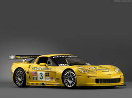 Chevrolet Corvette C6R 02 by FreeWallpapers
