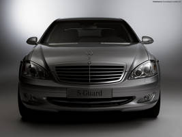 Mercedes Benz S600Guard 2007 2 by FreeWallpapers