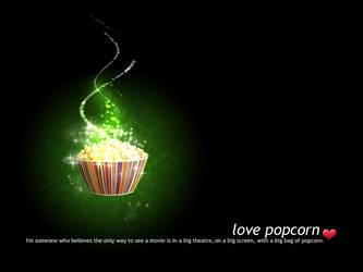 LOVE POPCORN. by dianaa89