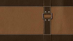 painted Wallpaper - Leather (Leder)