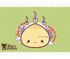 Kawaii Meat Bun by mAi2x-chan