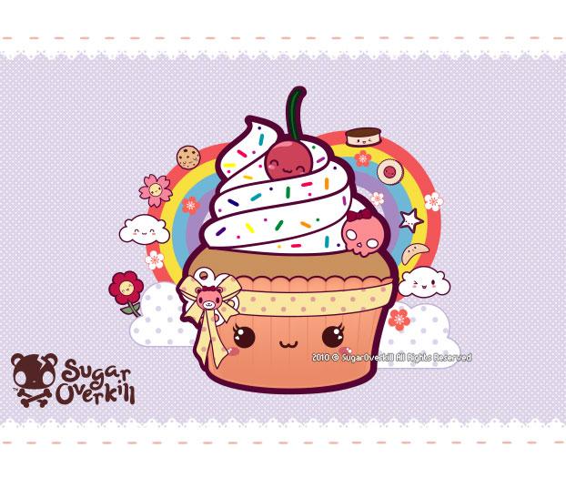 Kawaii Cupcake by mAi2x-chan on DeviantArt