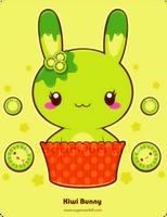 Kiwi Truffle Bunny by mAi2x-chan