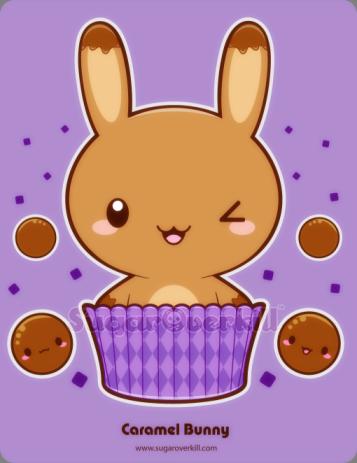 Caramel Truffle Bunny by mAi2x-chan