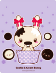 Cookie and Cream Truffle Bunny