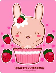 Strawberry and Cream Bunny