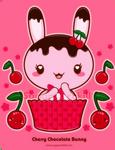 Cherry Chocolate Truffle Bunny