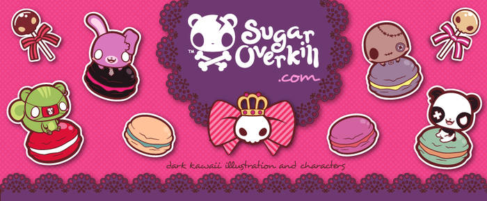 Dark Kawaii Facebook Cover