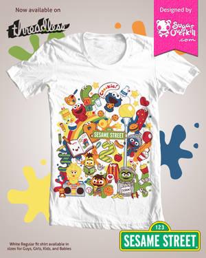 Kawaii Sesame Street Shirt Now Up for Grabs by mAi2x-chan on