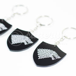GOT Stark Keychain by Cutterfly