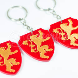 GOT Lannister Keychain by Cutterfly