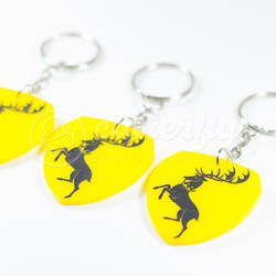 GOT Baratheon Keychain by Cutterfly