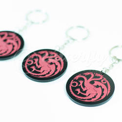 GOT Targaryen Keychain by Cutterfly