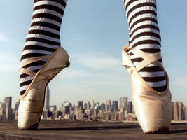 Slippers New York by IllustratedEye
