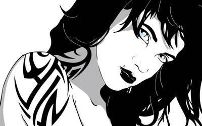 Girl by IllustratedEye