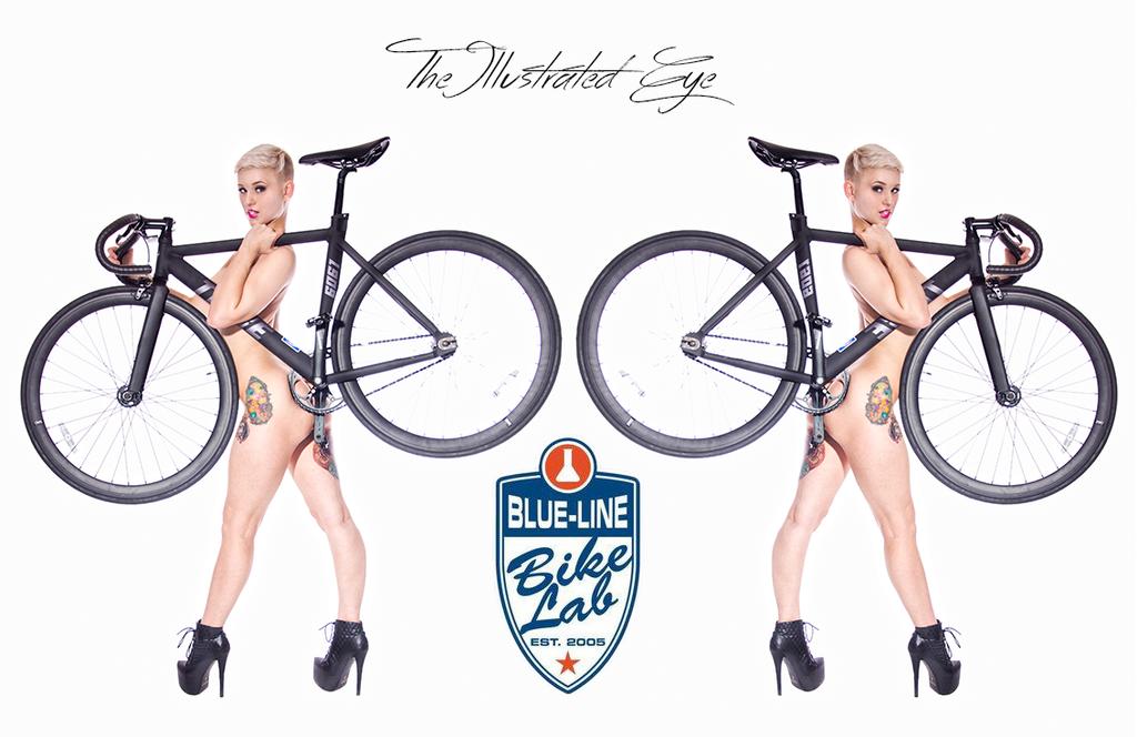 Bike Babe by IllustratedEye