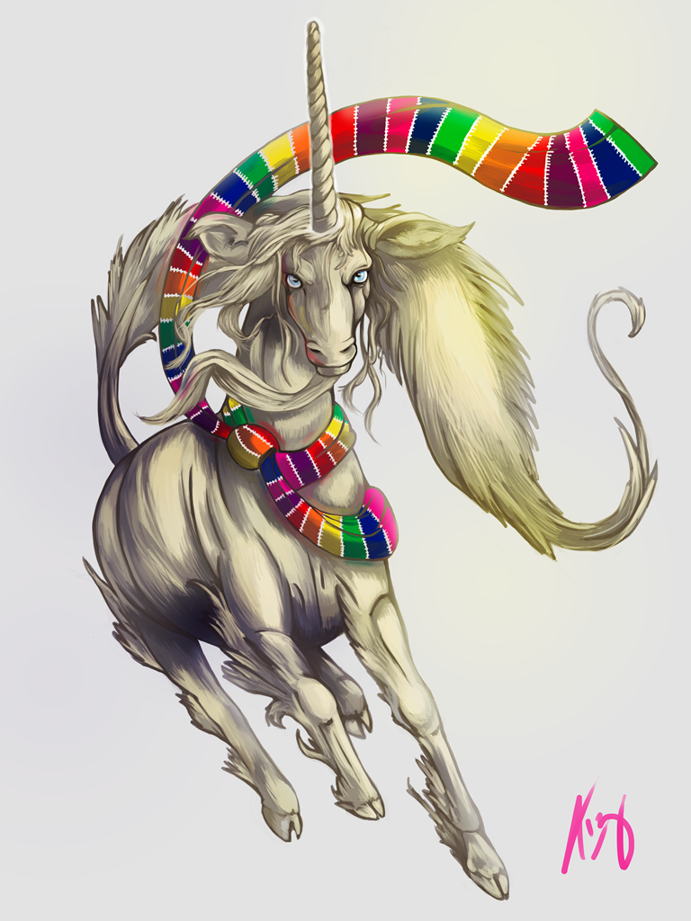 Fancy Unicorn by TizianaART