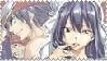 Stamp Fairy Tail: Grey X Ultear by HaruNatsu1997