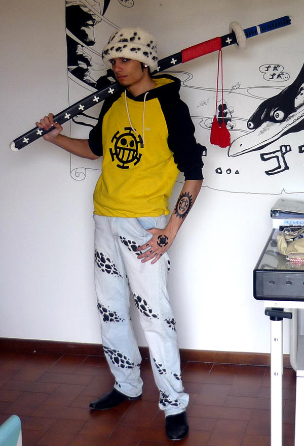 My cosplay of TRAFALGAR LAW by Vegapunk89 on DeviantArt