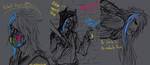 Rebel (Academy) Kayn sketches