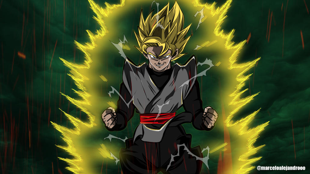 And White Ssj2 Images Black Goku 0