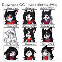 Kat davalin in friends styles